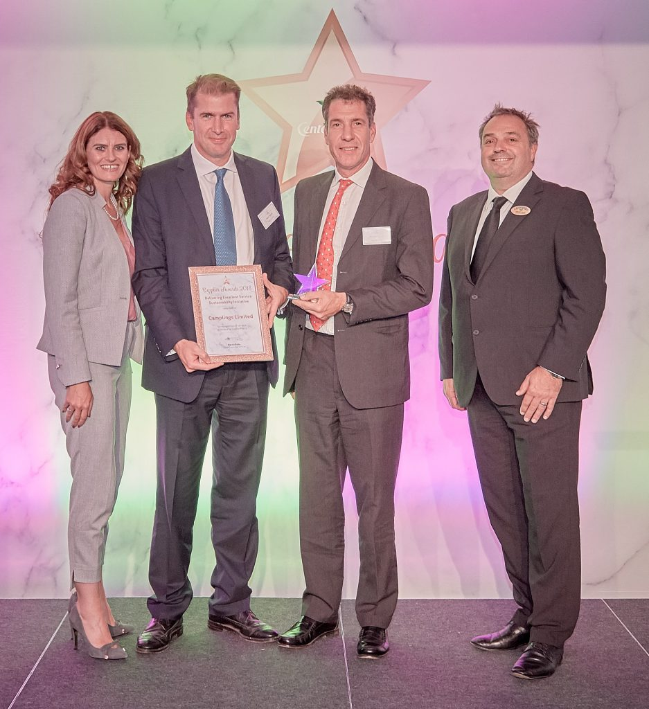 LTR Samantha Stephenson Category Manager Center Parcs Mark Turvill Swiss Camplings Richard Turvill Swiss Camplings Martyn Smith Head of Procurement Centre Parcs